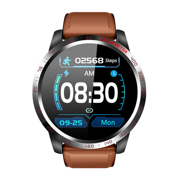 Bakeey W3 ECG+HRV Heart Rate Blood Pressure SPO2 Heart Health Monitor Caller Message Reminder Smart Watch