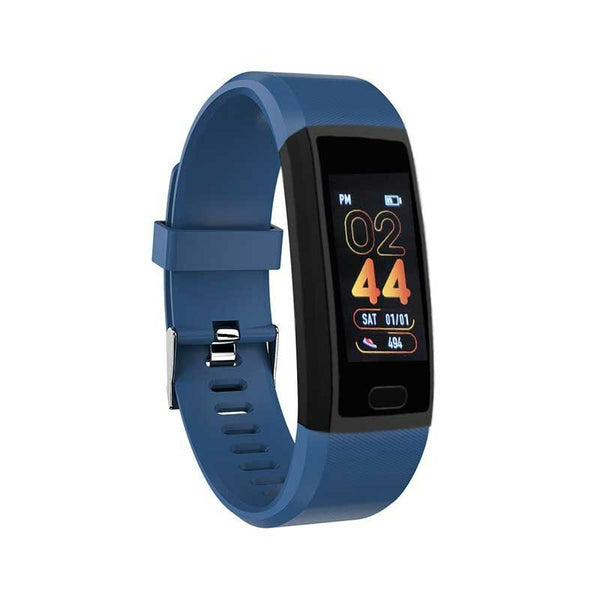 Bakeey 118 Plus 1.14inch IPS Color Screen Heart Rate Blood Pressure O2 Monitor USB Direct-charging Smart Watch