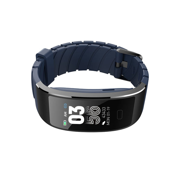 Bakeey S7 IP68 Full View Angle Heart Rate Alarm 7 Sports Mode Social Message Charging Dock Smart Watch Band