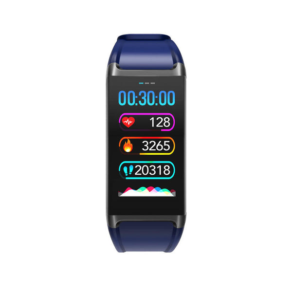 Bakeey V1 Color Display Menstrual Cycle All-time Heart Rate Monitor Stopwatch USB Charging Smart Watch Band