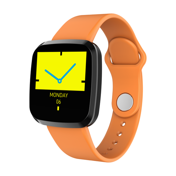 Bakeey P3 Integrated Body IPS Screen 24h Heart Rate O2 IP68 200mAh Message Data Storage Smart Watch