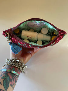 Christmas Essential Oil Pouch