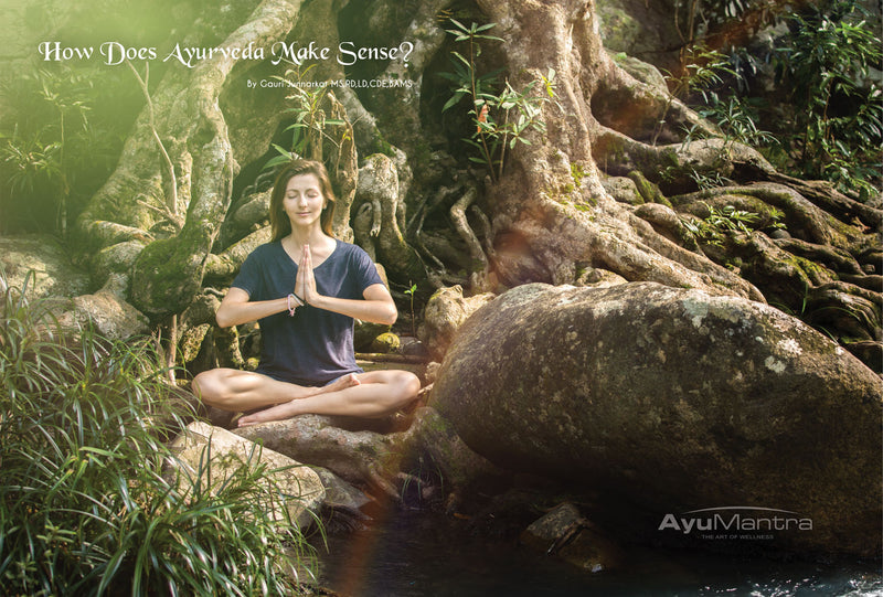 HOW DOES AYURVEDA MAKE SENSE?