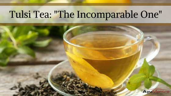 "Tulsi Tea (Holy Basil): ""The Incomparable One"""