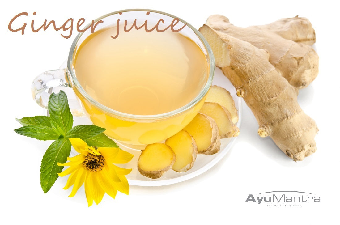 GINGER JUICE FOR STOMACH ACHE
