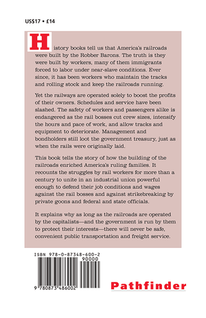Back cover of American Railroads: The Case for Nationalization