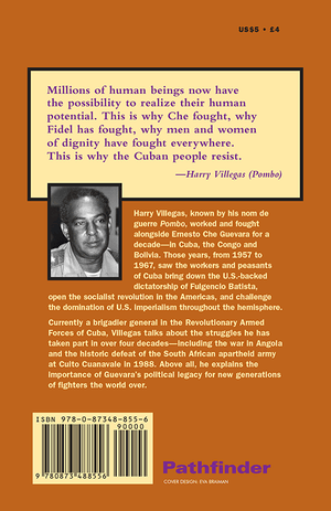 Back cover of At the Side of Che Guevara