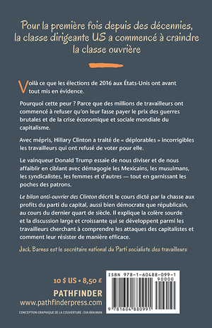 Back cover of Le bilan anti-ouvrier des Clinton