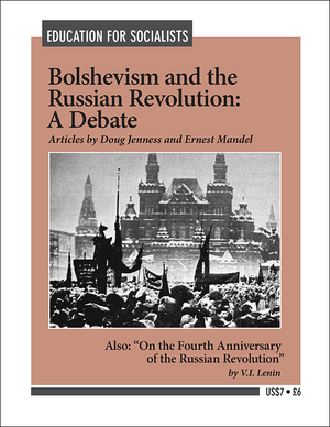 Front cover of Bolshevism and the Russian Revolution