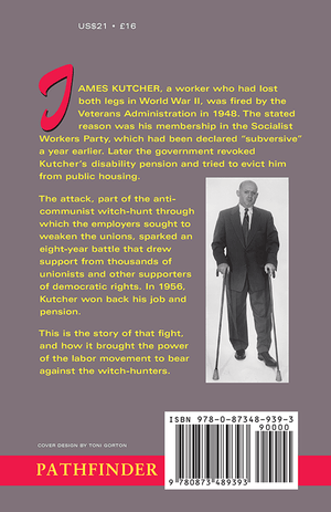 Back cover of The Case of the Legless Veteran