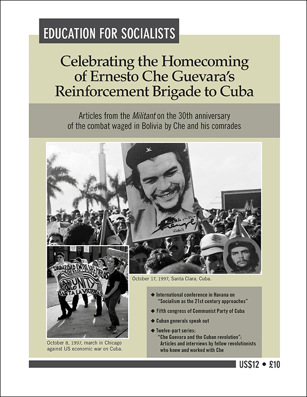 Celebrating the Homecoming of Ernesto Che Guevara's Reinforcement Brigade to Cuba