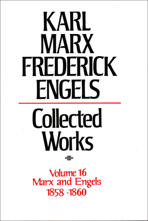 Front cover of Collected Works of Marx and Engels, Volume 16