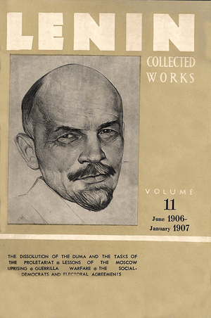 Front cover of Collected Works of Lenin, Volume 11
