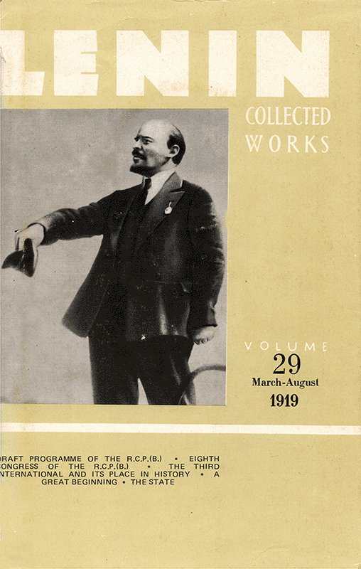 Collected Works of Lenin, Volume 29
