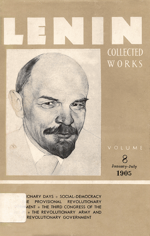 Collected Works of Lenin, Volume 8