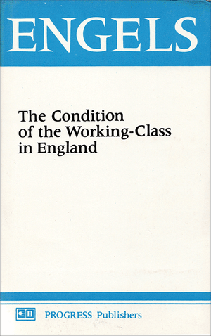 Front cover of The Condition of the Working Class in England