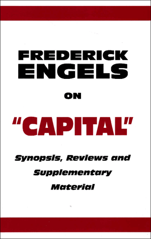 Front cover of Engels on 'Capital'