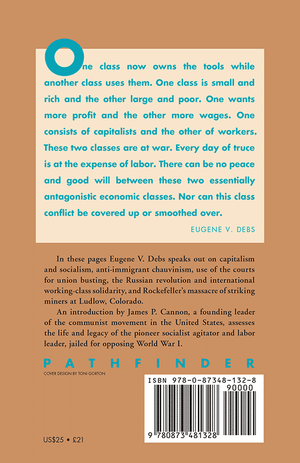 Back cover of Eugene V. Debs Speaks