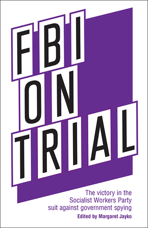 Front cover of FBI on Trial