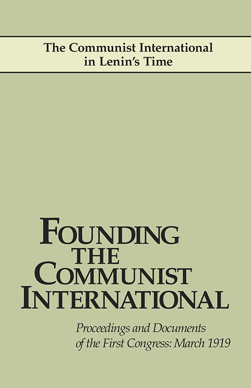Founding the Communist International