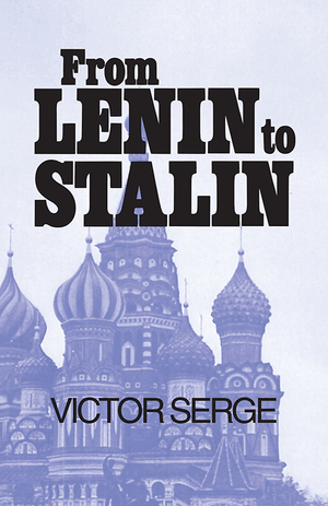 Front cover of From Lenin to Stalin