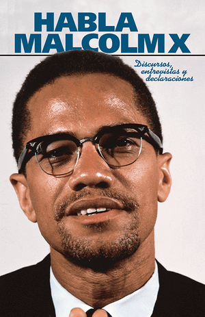Front cover of Habla Malcolm X