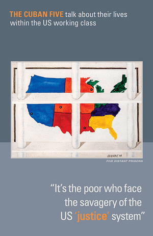 "Front Cover of ""It's the Poor Who Face the Savagery of the US 'Justice' System"""