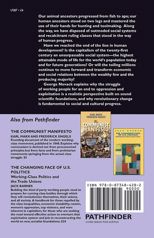 Back cover of The Long View of History