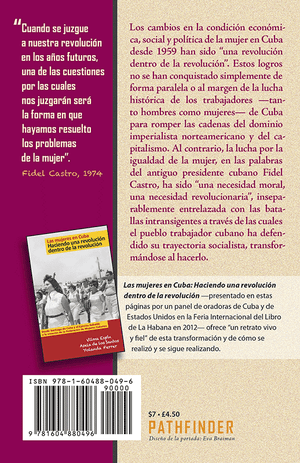 Back cover of Mujeres y revolución