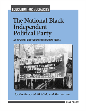 Front cover of The National Black Independent Political Party