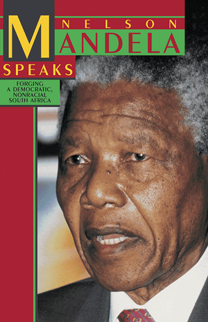 Front cover of Nelson Mandela Speaks