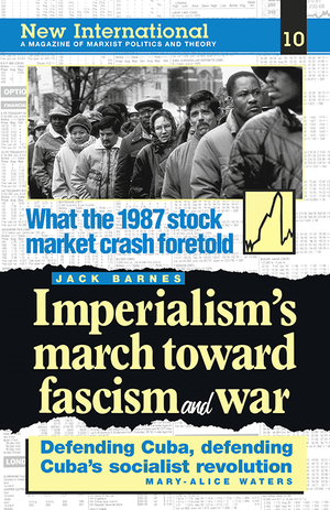 Front cover of Imperialism's March toward Fascism and War