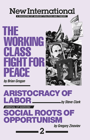 Front cover of The Working-Class Fight for Peace