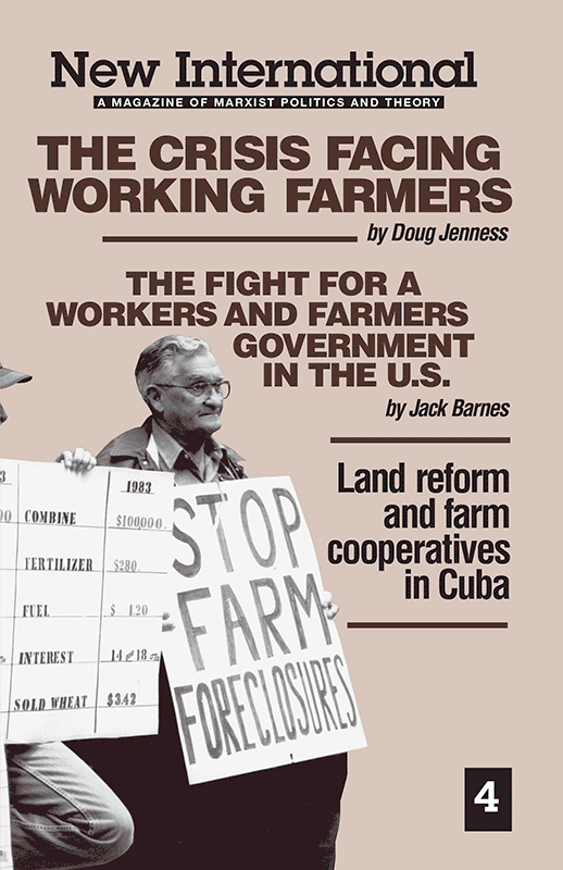 The Fight for a Workers and Farmers Government in the United States