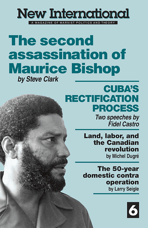 Front cover of The Second Assassination of Maurice Bishop
