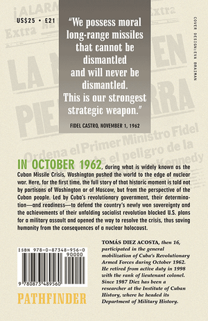 Back cover of October 1962