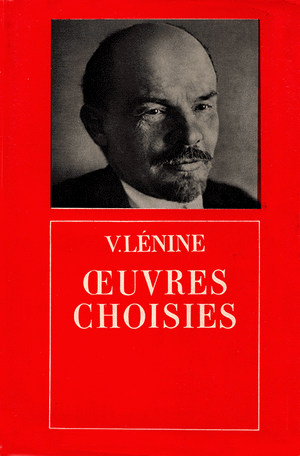 Front cover of Oeuvres choisies de Lenin (1 vol.)
