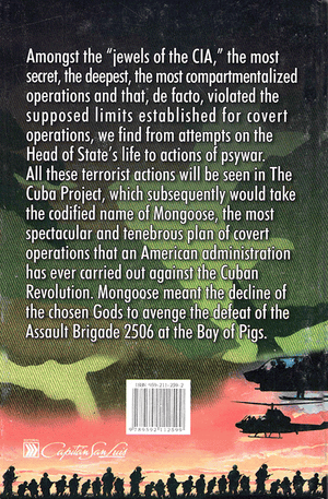 Back cover of Operation Mongoose