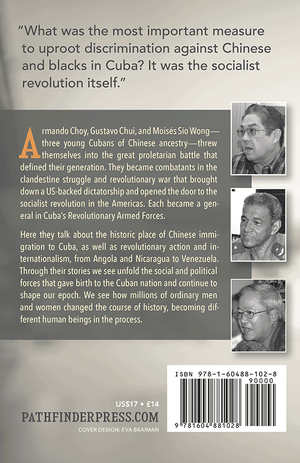 Back cover of Our History Is Still Being Written