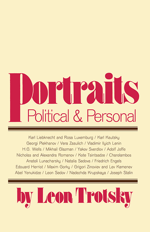 Front cover of Portraits, Political and Personal