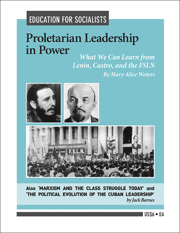 Proletarian Leadership in Power