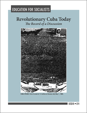 Front cover of Revolutionary Cuba Today