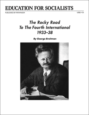 Front cover of Rocky Road to the Fourth International, 1933-38