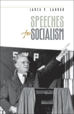 Front cover of Speeches for Socialism
