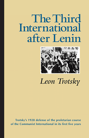 Front cover of The Third International after Lenin