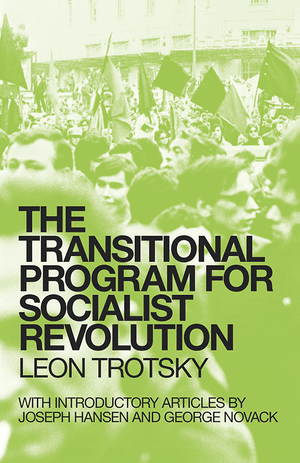Front cover of The Transitional Program for Socialist Revolution
