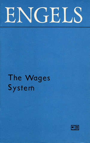 Front cover of The Wages System