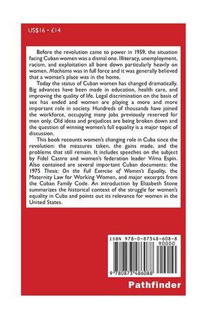Back cover of Women and the Cuban Revolution