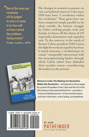 Back cover of Women and Revolution