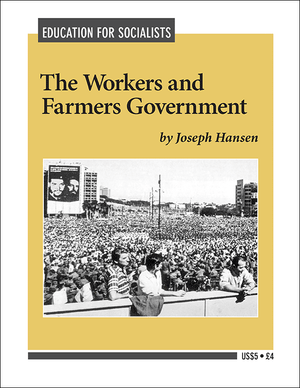 Front cover of The Workers and Farmers Government